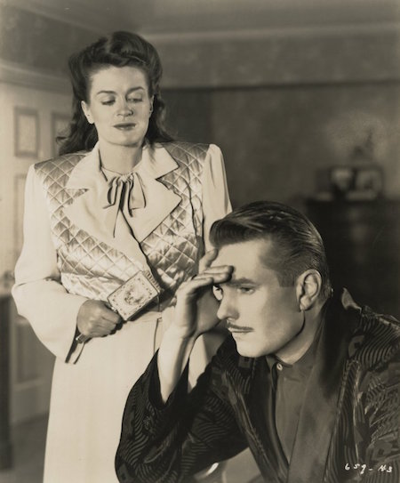 Rosemary DeCamp and Kent Smith in Nora Prentiss