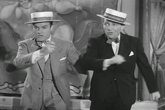 Bob Hope and Bing Crosby Road to Rio