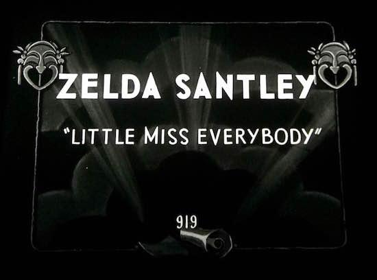 FRAME Zelda Santley Title Card Little Miss Everybody
