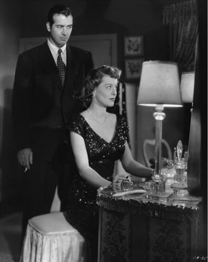 The Crooked Way film noir with John Payne and Ellen Drew
