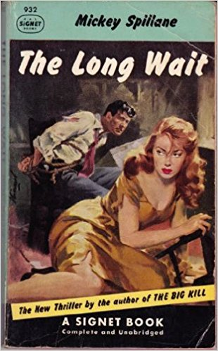 The Long Wait film noir, book by Mickey Spillane