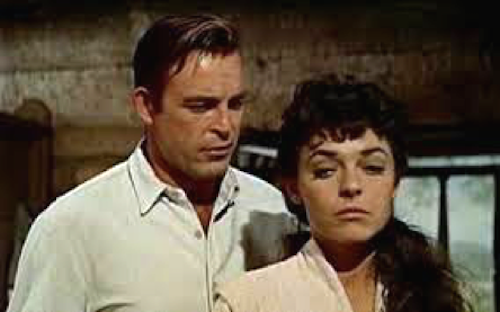 Scott Brady Anne Bancroft The Restless Breed