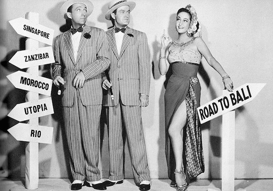 Bing Crosby, Bob Hope and Dorothy Lamour, the Road movies