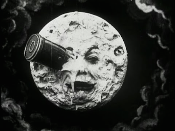 A Trip to the Moon 1902 Georges Meiles They were basically all this (although this is awesome, by the way)