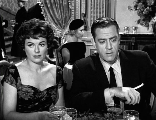 Barbara Hale and Raymond Burr, Perry Mason