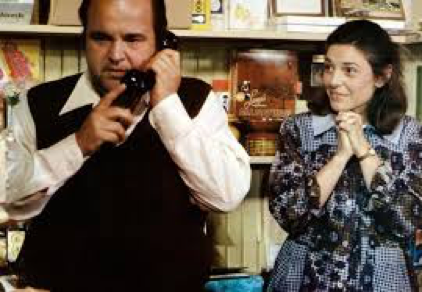 "Dom DeLuise and Anne Bancroft in ""Fatso"""