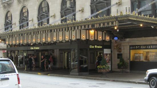 Drake Hotel 140 E. Walton Place in Chicago
