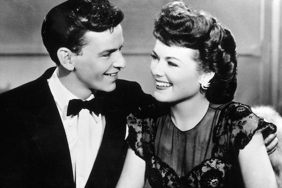 Frank Sinatra and Barbara Hale, Higher and Higher.