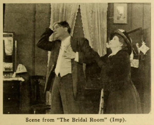 It was basically ALL this still of King Baggot in The Bridal Room 1912