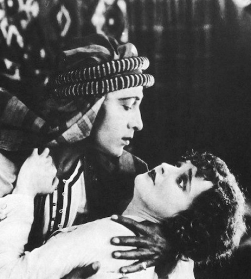 Rudolph Valentino in The Sheik 1921 But...but what's not to love