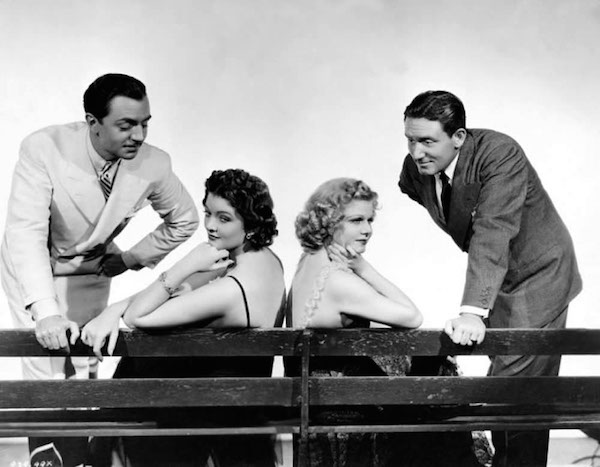 William Powell, Myrna Loy, Jean Harlow and Spencer Tracy, Libeled Lady 1936
