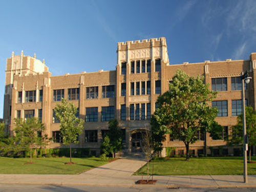 Marquette Academy is now Marquette University High School, located at 3401 W Wisconsin Ave. in Milwaukee, Wisconsin.