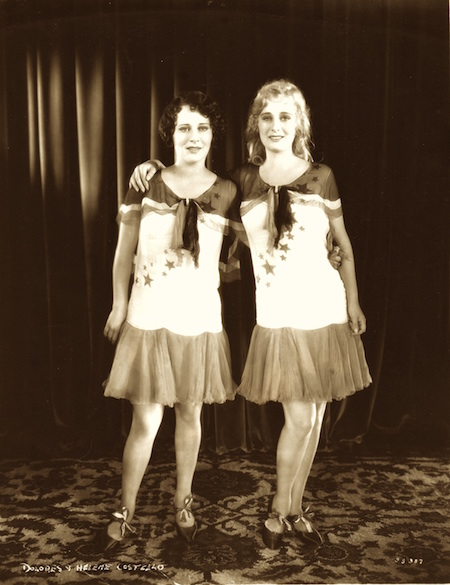 SISTERS Still from Show of Shows Dolores and Helene Costello 1929