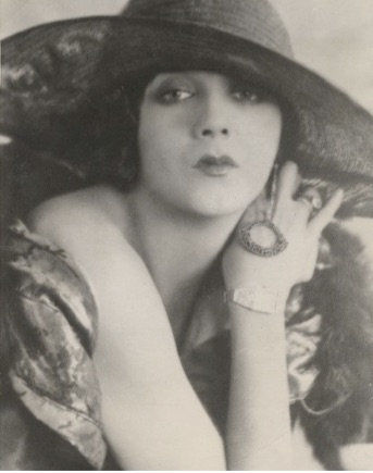 Barbara La Marr, circa early 1924; Melbourne Spurr image