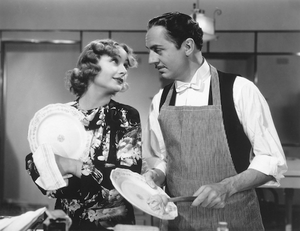 Carole Lombard and William Powell in My Man Godfrey