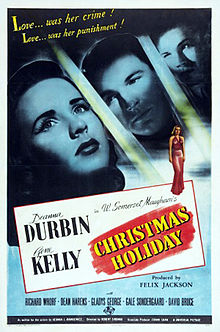 Christmas Holiday 1944 poster Deanna Durbin Gene Kelly