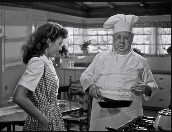 Christmas in Connecticut Barbara Stanwyck CS Cuddles with pancakes flip flop
