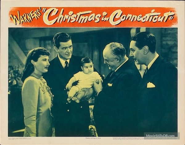 Christmas in Connecticut lobby card