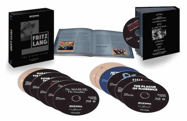 fritz lang: the silent films blu-ray set pack shot 1 from kino lorber