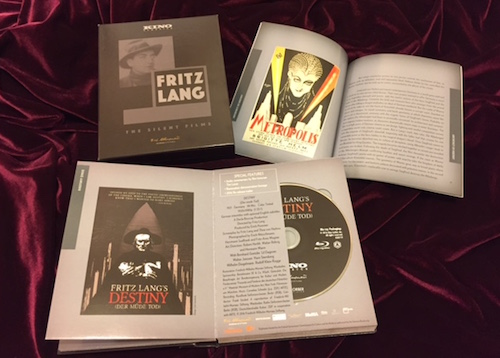 fritz lang: the silent films blu-ray set