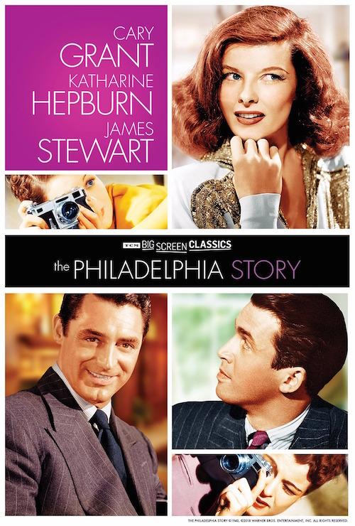 philadelphia story-poster