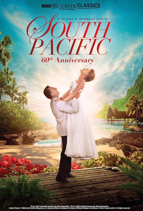 south pacific-poster