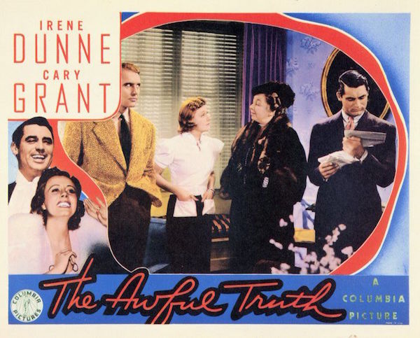 the awful truth movie poster