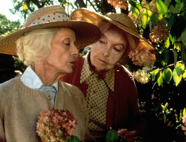 THE WHALES OF AUGUST, Bette Davis, Lillian Gish, 1987