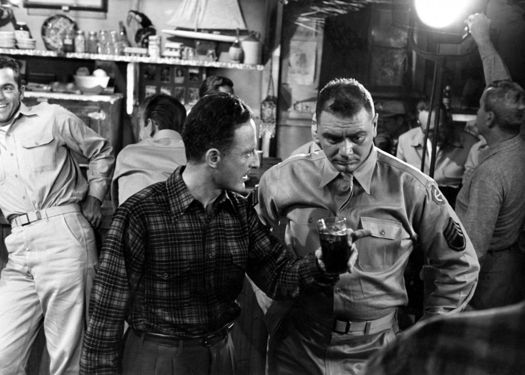 fred zinnemann (director ) & ernest borgnine - from here to eternity 1953
