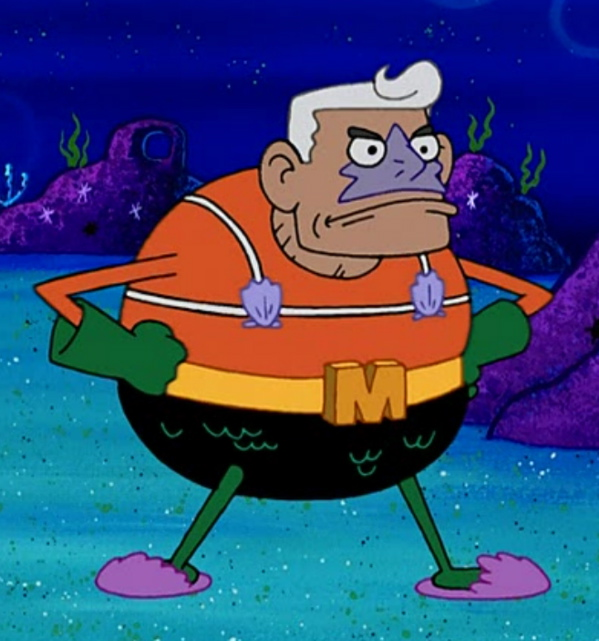 Ernest Borgnine_Mermaid Man