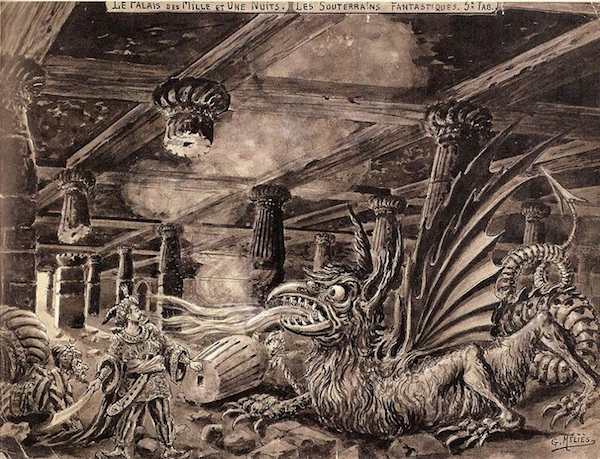 Georges Melies beautiful concept art