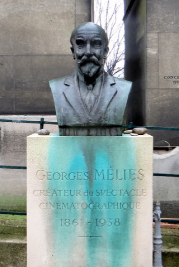 Georges Melies bust