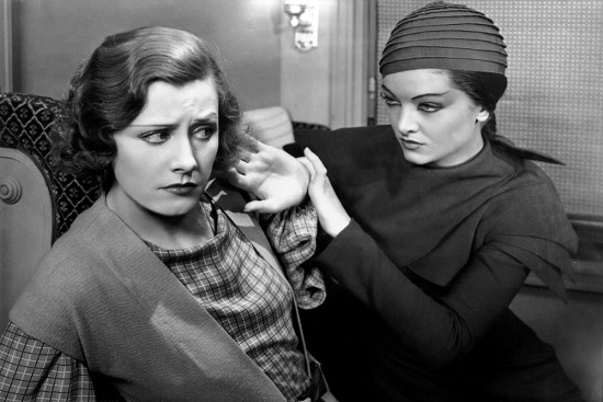 Thirteen Women - irene dunne and myrna loy