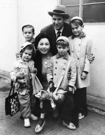 jeanne crain and Family