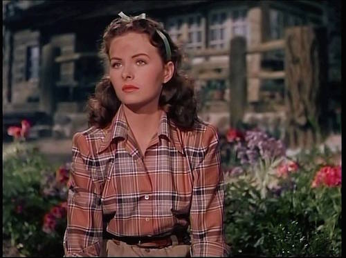 jeanne crain leave her to Heaven