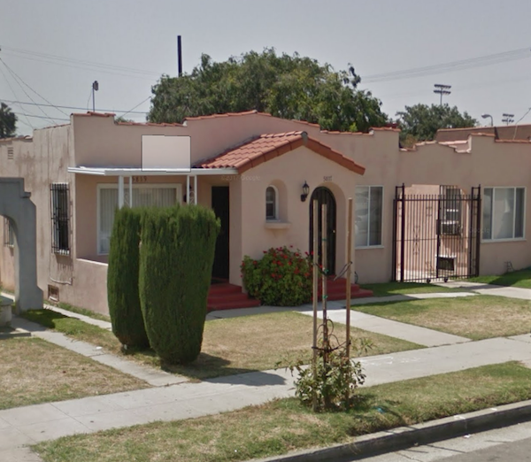jeanne crain lived at 5817 Van Ness Ave in Los Angeles
