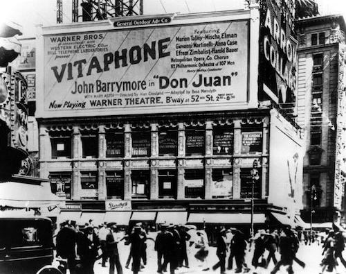 warner bros vitaphone don juan 1926 marquee