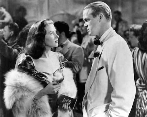 Dan Duryea with Yvonne DeCarlo in Criss Cross