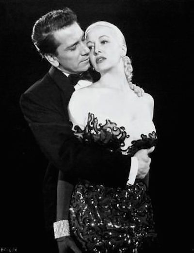 richard Conte with Marilyn Maxwell in New York Confidential