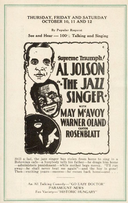 Jazz Singer Herald