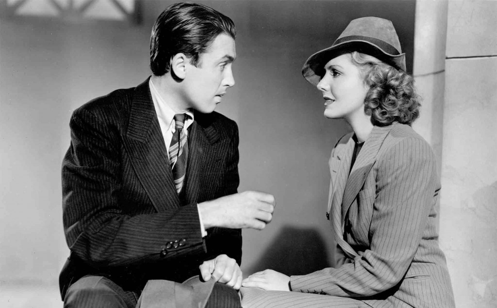 James Stewart and Jean Arthur in Mr. Smith Goes to Washington