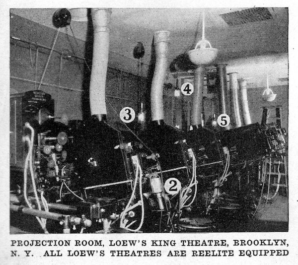 Loews Kings Projection Booth