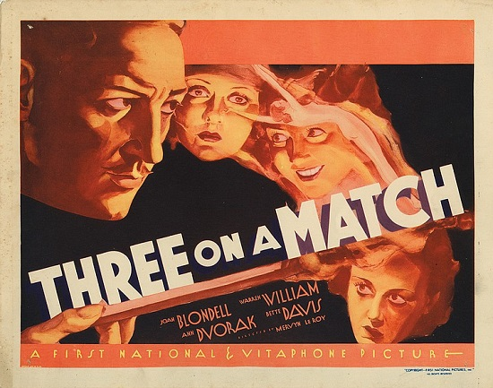 Three on a Match movie poster