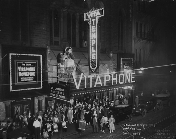 Vitaphone Theatre Marquee