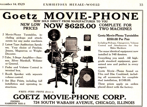 goetz cheap talkie set