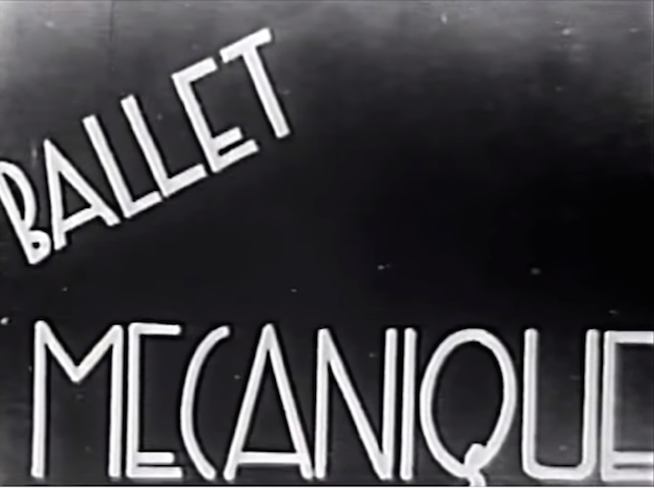 Balllet Mecanique (1924) title card