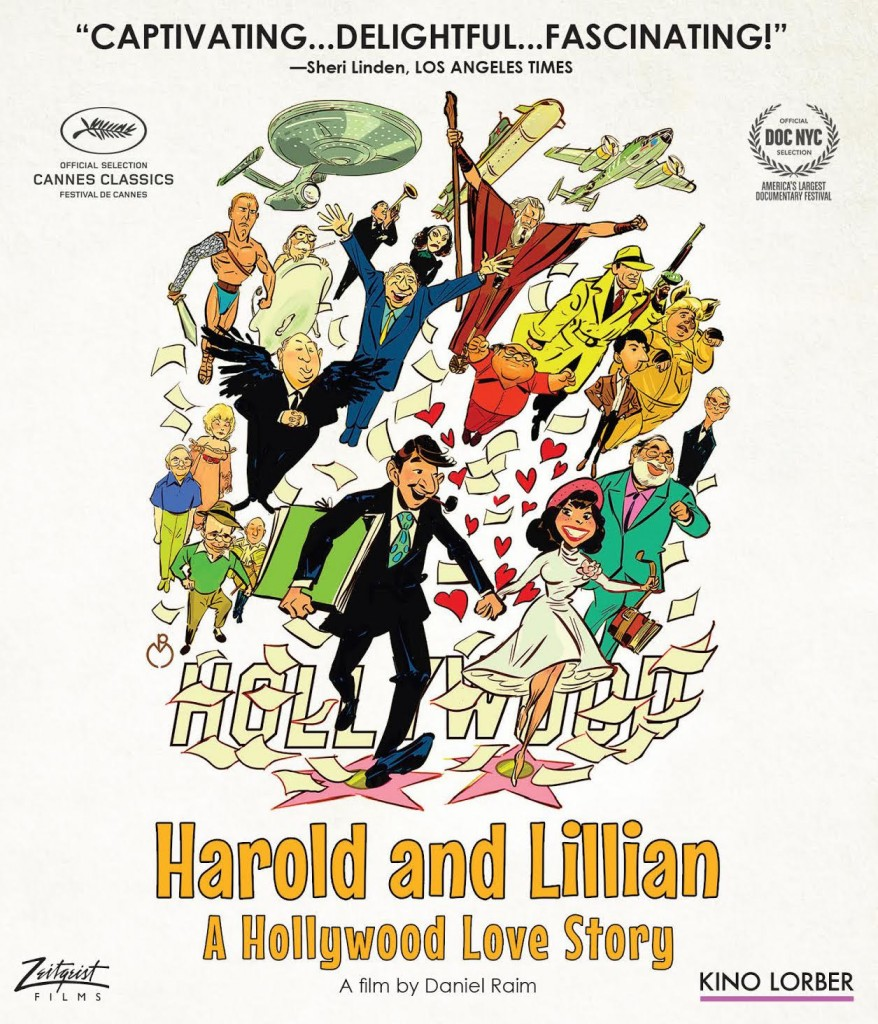 Harold and Lillian A Hollywood Love Story cover