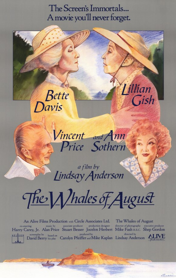 The Whales of August poster