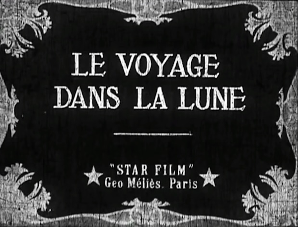a trip to the moon 1902 title card