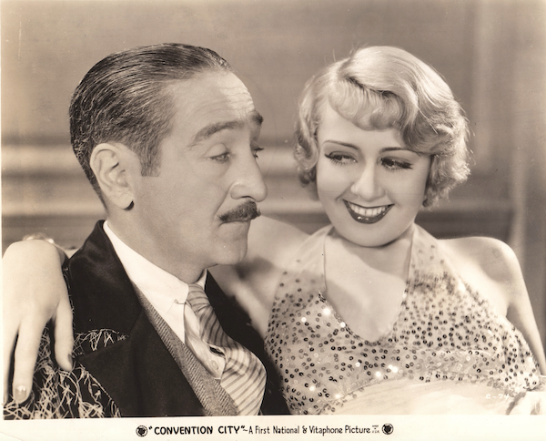 Convention City Adolph Menjou and Joan Blondell